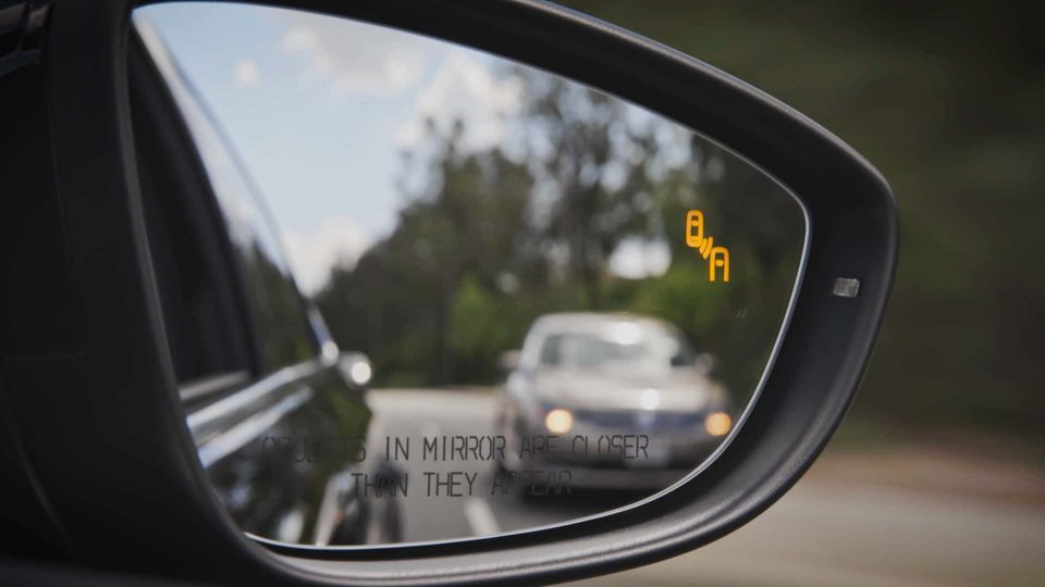 VW Blind Spot Detect