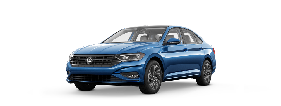 The 2019 Jetta's sleek styling is sure to turn heads!