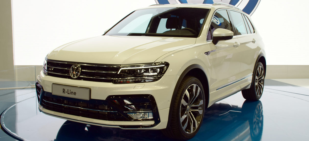 The 2018 Tiguan R-Line is sure to garner looks